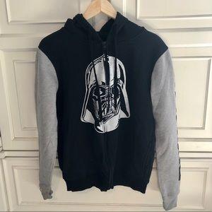 Star Wars Darth Vader Zip Front Hoodie